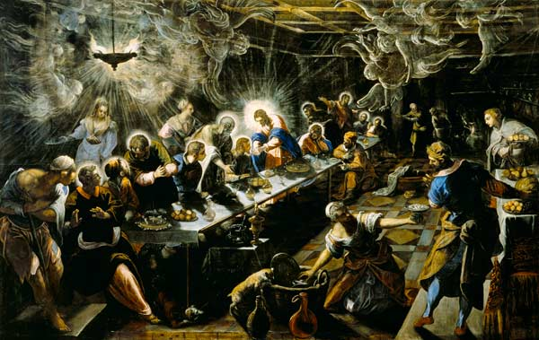 differences between leonardo s last supper and tintorettos last supper The last supper - the plot is quite common in the renaissance masters the picture was painted by tintoretto specifically for the venetian church of san.
