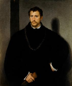 Portrait of an Unknown Man (The Man with Grey Eyes, or The Englishman)
