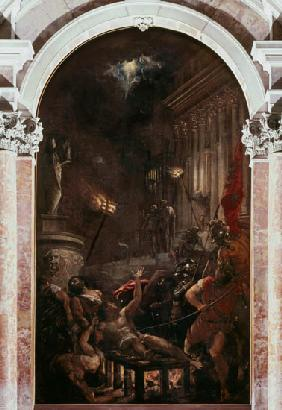 The Martyrdom of St. Lawrence 1558