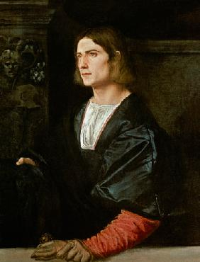 Young Man with Cap and Gloves c.1515