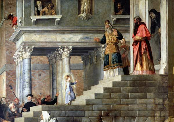 Presentation of the Virgin at the Temple 1534-8
