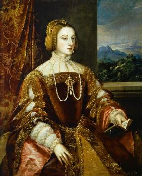 Portrait of the Empress Isabella of Portugal 1548