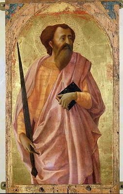 St. Paul, 1426 (tempera on panel) 1640
