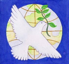 Dove of Peace, 2005 (w/c on paper)
