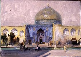 Afternoon, Ladies'' Mosque, Isfahan, 1994 (oil on canvas)