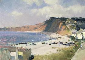Summer Morning in Budleigh Salterton, 1989