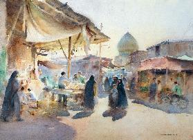 Light and Shade, Shiraz Bazaar, 1994 (w/c on paper)