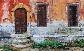 Doorway, Corfu