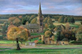Edensor, Chatsworth Park, Derbyshire