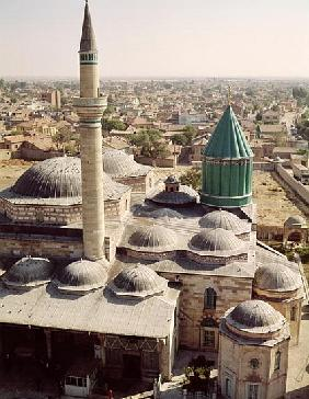 Aerial view of the Mevlana Tekke (Monastery of our Master)