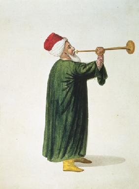 Official Trumpeter of the Janissary Military Band, Ottoman period third quar