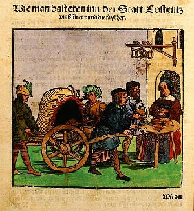 How they made bread at the Council of Constance, from ''Chronik des Konzils von Konstanz''
