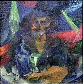 Composition with Figure of a Woman, 1912 (oil on canvas) 1912