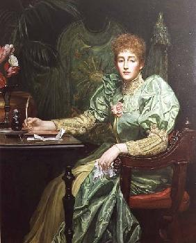 Portrait of Frances, Lady Layland-Barratt Lady Layla