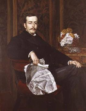 Portrait of Sir Francis Layland-Barratt (b.1860)