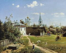 A Small Yard in Moscow 1878