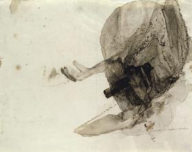 Untitled, c.1853-5 (ink wash on paper)