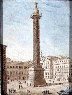 The Column of Marcus Aurelius, Rome  on