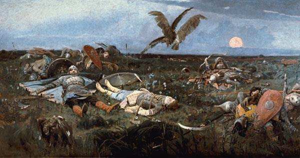 After the Battle between Prince Igor Svyatoslavich of Kiev and the Polovtsy 1880