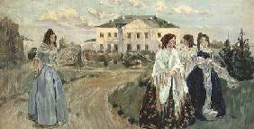 A Walk at Sunset 1903