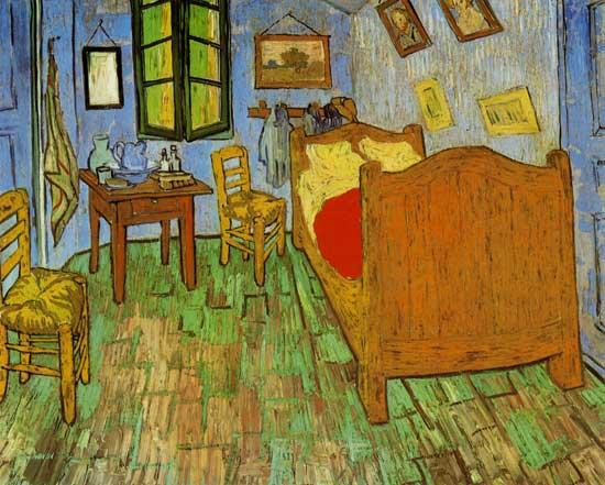 Vincents Schlafzimmer In Arles - Vincent Van Gogh Als Kunstdruck