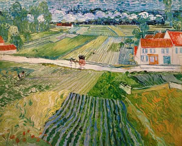 ... im Hi - Vincent van Gogh als Kunstdruck oder handgemaltes Gemälde