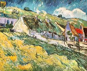 Cottages at Auvers-sur-Oise 1890