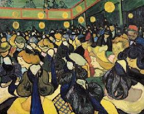 The Dance Hall at Arles 1888