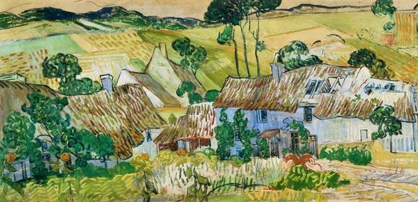 Farms near Auvers / Paint.