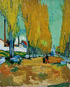 V.van Gogh, Les Alyscamps /Paint./1888