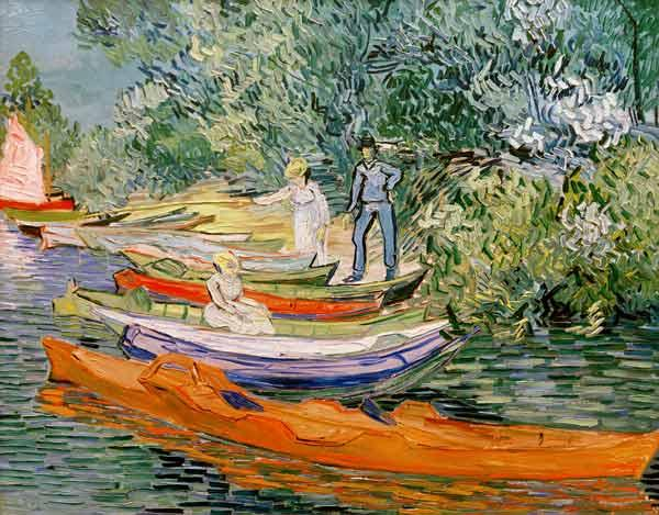 Am Ufer der Oise in Auvers 1890