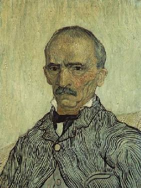Portrait of Superintendant Trabuc in St. Paul's Hospital 1889