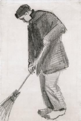 The street cleaner (charcoal)