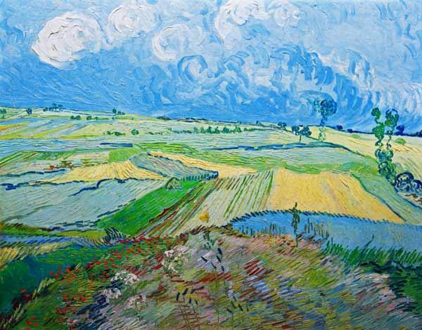 Wheatfields in Auvers 1890