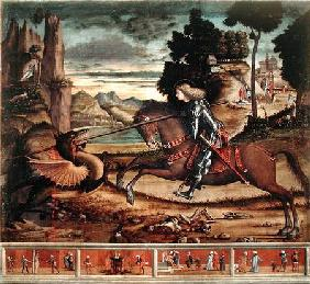 St. George Killing the Dragon 1516