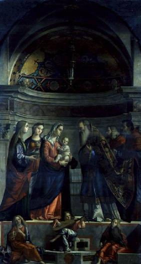 Presentation in the Temple 1510
