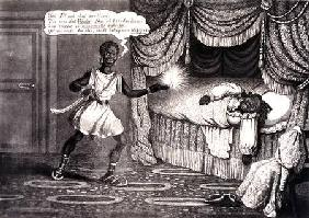 Tregears Black Jokes - Othello, engraved by Hunt c.1834