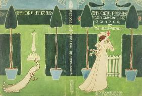 Book Jacket design for ''A Floral Fantasy in an Old English Garden'' by Walter Crane