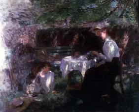 Tea in the Garden c.1902
