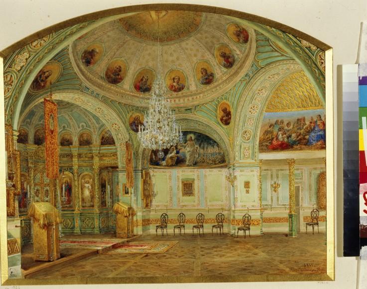 Interieur der hauskirche im jussupow pal wassili for Interieur exterieur wohnen in der kunst
