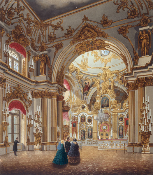 st petersburg winterpalast kirche wassili sadownikow. Black Bedroom Furniture Sets. Home Design Ideas