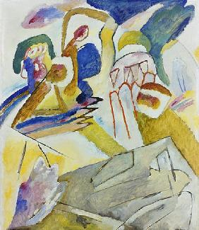 Improvisation 18 (mit Grabsteinen) 1911