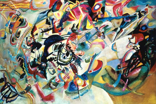 Wassily Kandinsky Komposition Kunstpostkarte