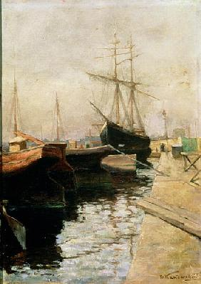 The Port of Odessa 1900