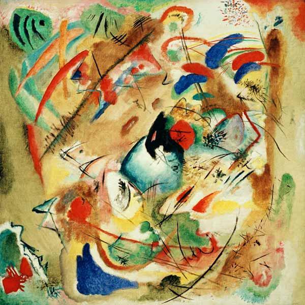 trumerische improvisation 1913 trumerische improvisation von wassily kandinsky - Wassily Kandinsky Lebenslauf
