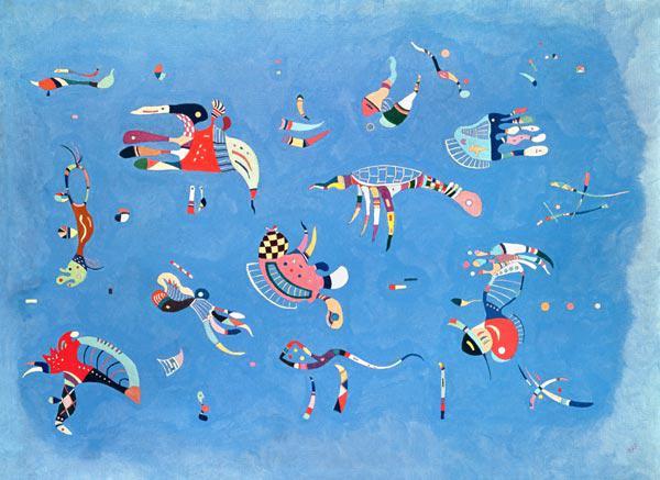 himmelblau 1940 himmelblau von wassily kandinsky - Wassily Kandinsky Lebenslauf
