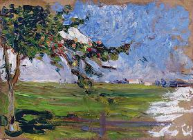 Landscape with an Apple Tree 1906