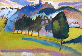 Landscape with Rolling Hills 1910