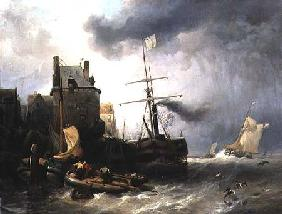 The Storm at Dunkirk