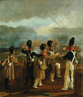 Soldiers on the Ramparts c.1809